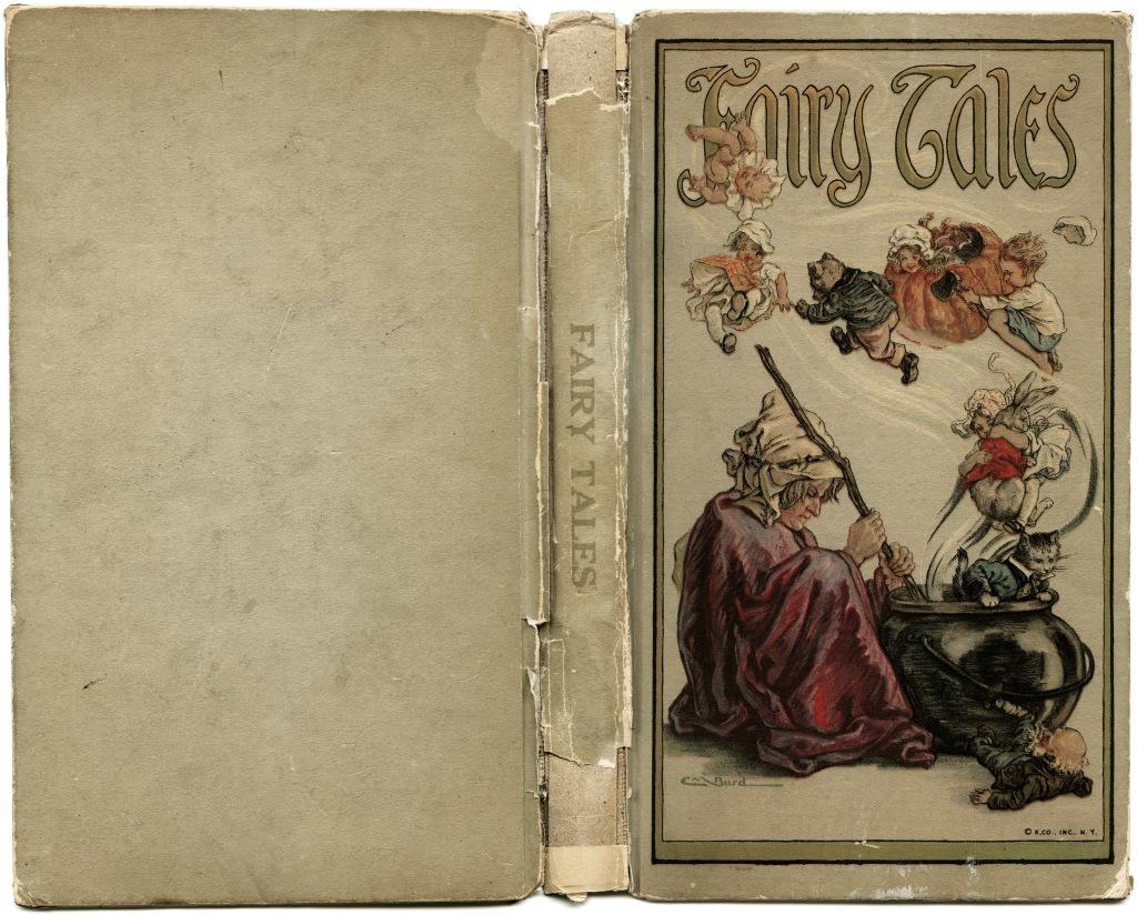OldDesignShop_FairyTalesBookCover1918