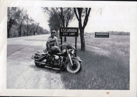 My Pop as the BA biker-boy that he was.
