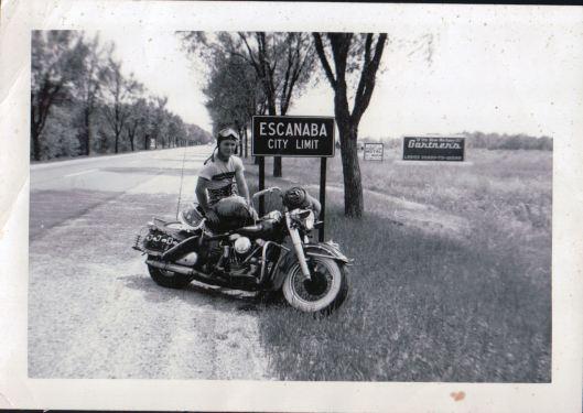My Pop as the BA biker-boy that he was.
