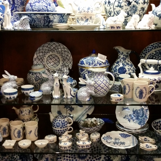 a dreamy shelf-full at the Biltmore gift shop of delight