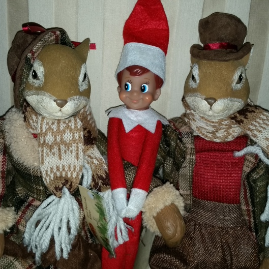 Lady Genetta and Lord Troxenhall (Ol'Chitters) are entertaining their American Cousin Elfie this week